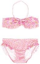 Stella McCartney graphic flowers Marilene bikini - kids - Polyamide/Polyester/Spandex/Elastane - 14 yrs