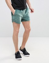 Asos Jersey Shorts In Towelling