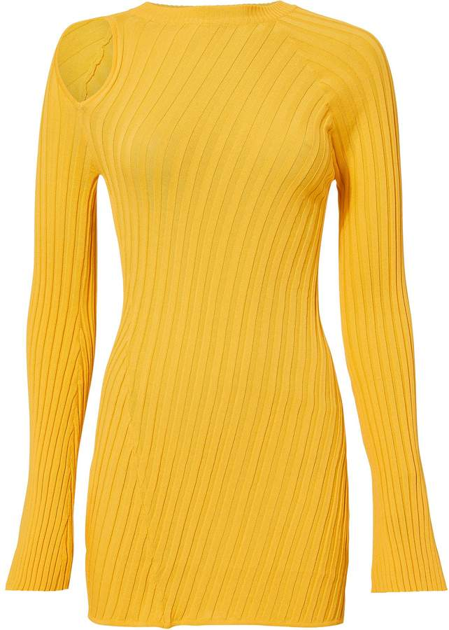 Ellery Aquarius Knit Cutout Top