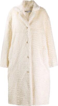 Katharine Hamnett Velma bio fur coat