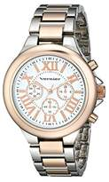 Vernier Women's VNR11157TTR Analog Display Japanese Quartz Two Tone Watch
