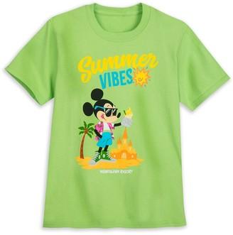 Disney Mickey Mouse ''Summer Vibes'' T-Shirt for Kids Disneyland