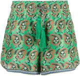 Etro paisley print shorts - women - Silk/Polyester/Acetate - 40
