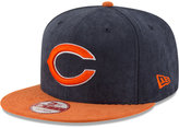 New Era Chicago Bears Summer Suede 9FIFTY Snapback Cap
