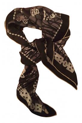Cartier Black Silk Scarves