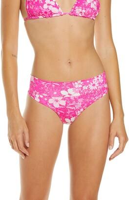 Frankie's Bikinis Grant Floral Bikini Bottoms