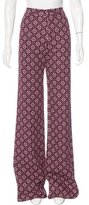 Holly Fulton High-Rise Wide-Leg Pants w/ Tags