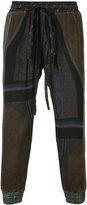 Vivienne Westwood Hatto trousers - unisex - Viscose - II