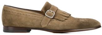 Doucal's Kilty buckled loafers