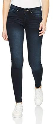 H.I.S Women's Lorraine Skinny Jeans, (Advanced Blue Black Wash 9722), 27W x 32L