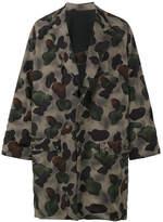 Yohji Yamamoto camouflage Kimono coat