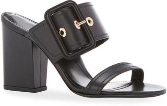 Marion Parke Louise Buckle Slide Sandals