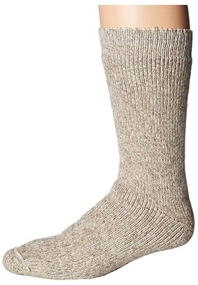 Wigwam The Ice Socks (Grey Twist) Crew Cut Socks Shoes