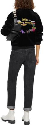 Stella McCartney Cropped Distressed Mid-rise Straight-leg Jeans