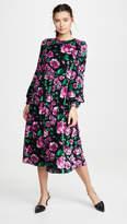 Marc Jacobs The Blouson Sleeve Flare Dress