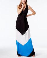 INC International Concepts Popsicle® Colorblocked Maxi Dress, Created for Macy's