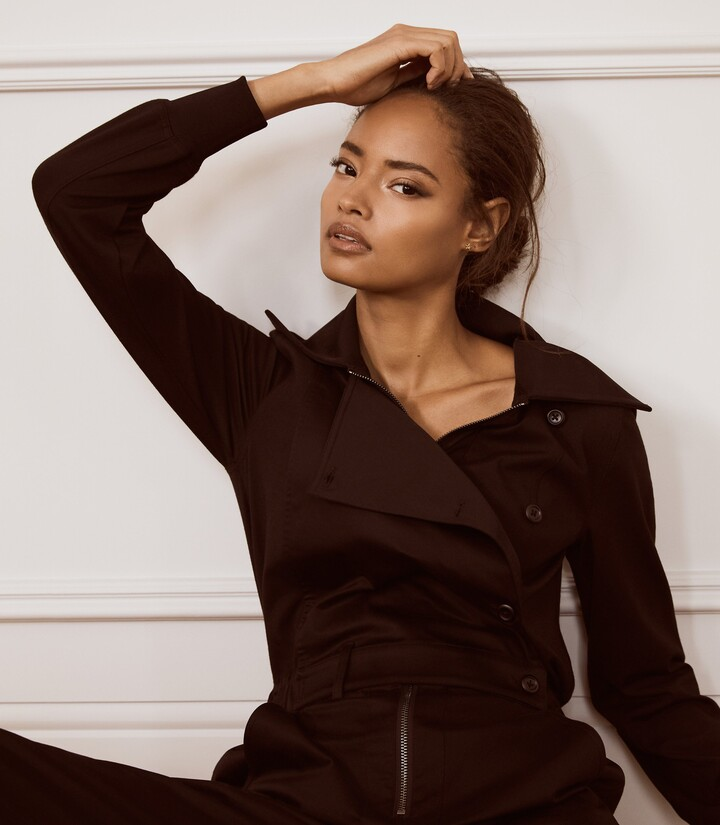 Thumbnail for your product : Reiss Ellis - Utility Jumpsuit in Black
