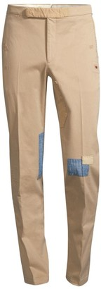 Polo Ralph Lauren Slim-Fit Rip & Repair Trousers