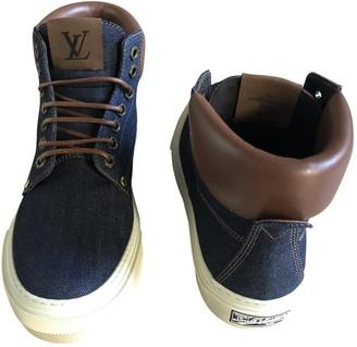 Louis Vuitton Blue Denim - Jeans Trainers