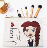 Hurley Sarah Personalised Dollybelles Make Up / Wash Bag