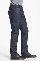 Timberland 'Stoneham' Slim Fit Selvedge Jeans (Raw Denim)