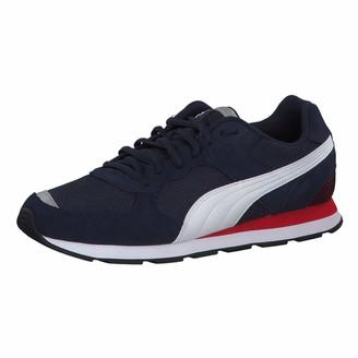 Puma Unisex Adults' Vista Sneakers Black White-Charcoal Gray 48.5 EU 13UK