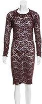 Etoile Isabel Marant Lace Bodycon Dress