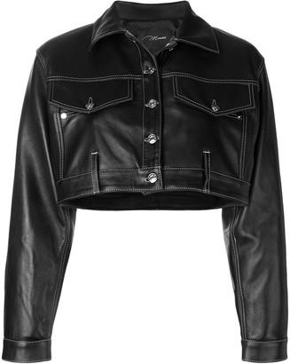 Manokhi short oversized jacket