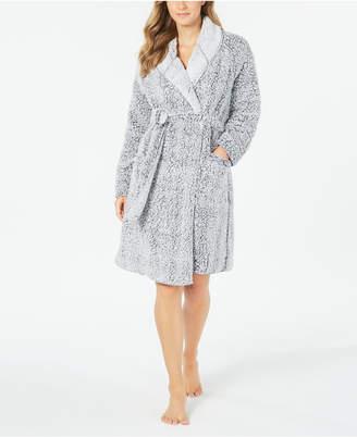 Charter Club Super Soft Faux-Fur Short Wrap Robe
