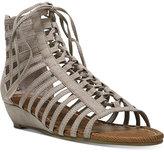 Carlos by Carlos Santana Cornelia Gladiator Lace-Up Wedge Sandals