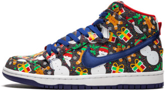 Nike SB Dunk High TRD QS 'Ugly Christmas Sweater' Shoes - Size 8.5