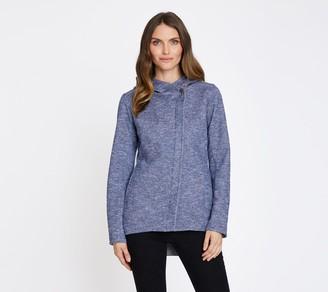 Mia Melon Fleece-Lined Waterproof Cotton Jacket- Tofino