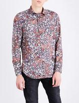 Diesel S-nico regular-fit floral-print shirt