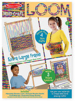Melissa & Doug Multi-Craft Weaving Loom Set