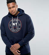 Tommy Hilfiger PLUS Darrel Hoodie NY Logo in Navy