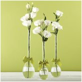 Twos Company Two's Company Sleek & Chic Teardrop Vases Set of 3