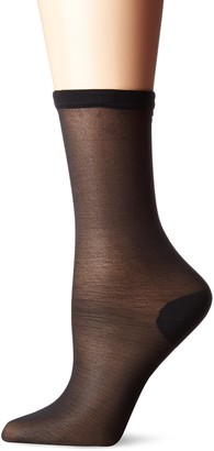 Yummie Women's Run Resistance Sheer Nylon Crew Sock