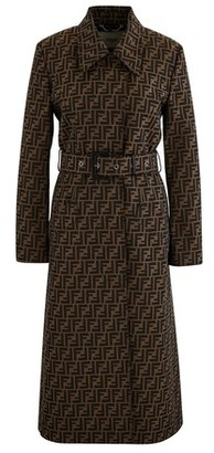 Fendi Soprabito Ff Trench Coat
