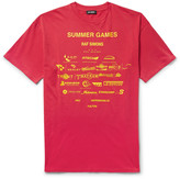 Raf Simons - Printed Cotton-jersey T-shirt