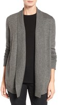 Eileen Fisher Lush Merino Wool Blend Shawl Collar Cardigan
