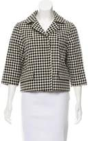 Marni Wool Gingham Jacket