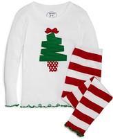 Sara's Prints Girls' Christmas Tree Pajama Set - Sizes 2-7