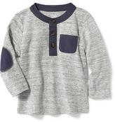 Old Navy Elbow-Patch Henley for Baby