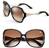 Swarovski SK0065 60mm Geometric Sunglasses
