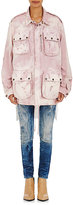 Faith Connexion Women's Canvas Distressed Field Jacket