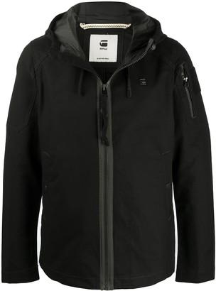 G Star Hooded Windbreaker Jacket
