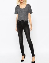 Weekday Body Super Stretch Skinny Washed Denim Jean