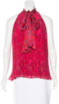 Prabal Gurung Pleated Sleeveless Top w/ Tags