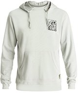 Quiksilver Men's White Light Hoodie