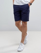 Benetton Chino Shorts In Linen